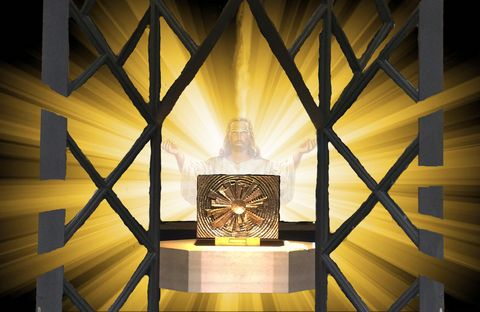 Jesus awaits us in the Tabernacle