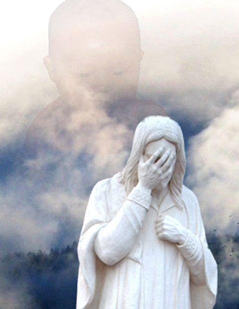 Jesus weeps over children dying too soon.