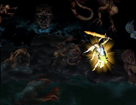 Three days of darkness: final battle against evil