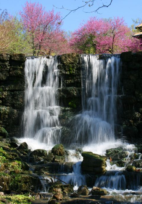 Waterfalls at Big Cedar, Branson, Missouri