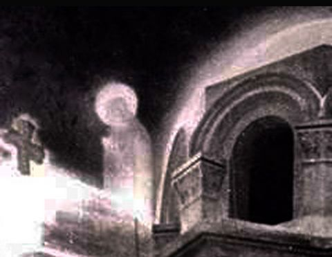 Zeitoun apparition 1968, enlarged and detailed by John Carpenter