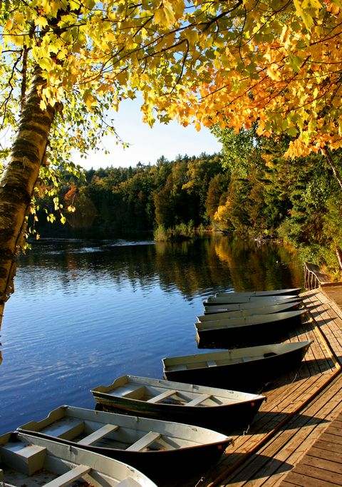 Boat dock, Upper Peninsula, Michigan