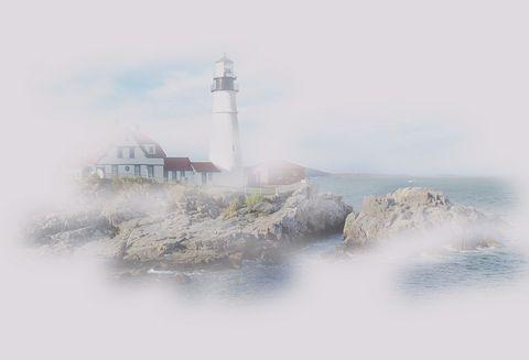 Fog created in Maine