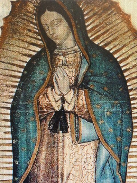 Our Lady of Guadalupe, at the basilica in Mexico City, Mexico