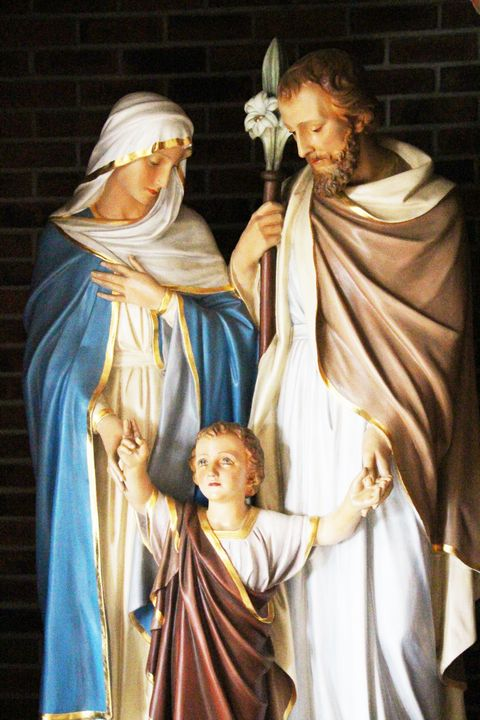 Mary, Jesus, Joseph