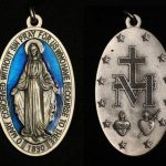 Miraculous Medal, Paris, France 1830