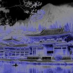 Mystical Oriental scene, Valley of the Temples, Hawaii