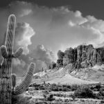 Superstition Mountain near Phoenix, Arizona