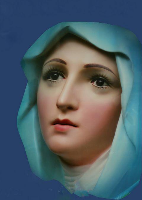 Virgin Mary by unknown Vietnamese artist