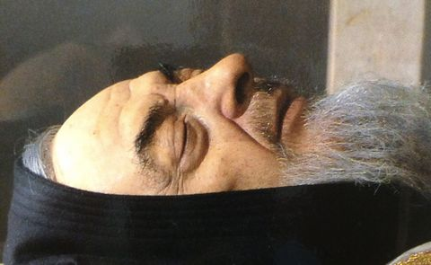 Saint Padre Pio of Italy -- another incorrupt body that will not decay since his death in 1968.