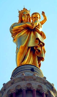 Notre Dame De La Garde Statue