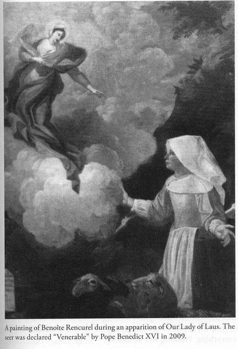 The Laus apparitions lasted a record-long 54 years from 1664 through 1718.