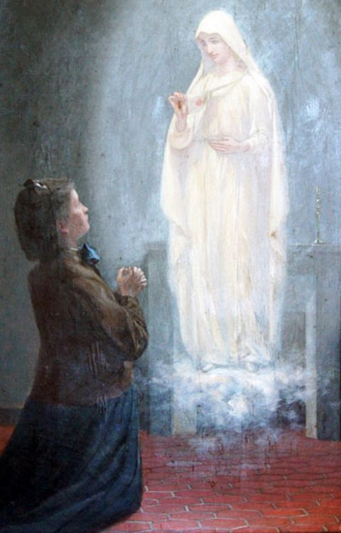 Estelle had many visits by the Virgin Mary and many messages.