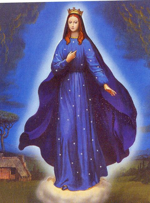 Our Lady of Hope tells them that God hears their prayers.