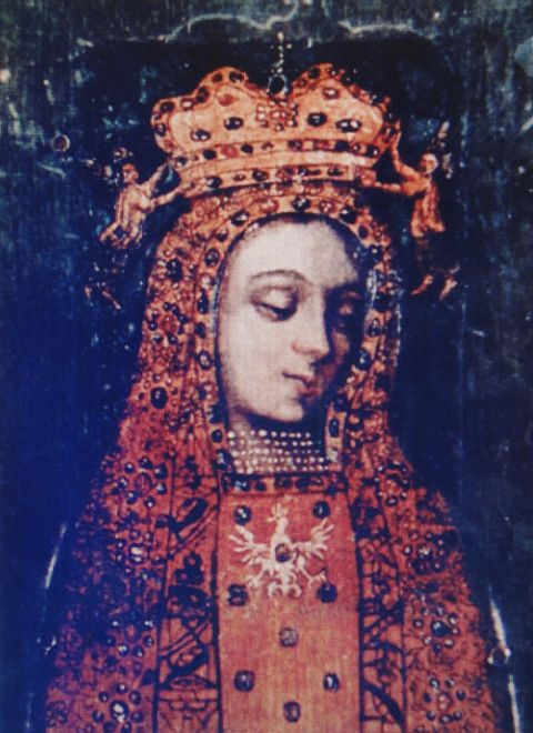 The miraculous healings occurred in front of Our Lady of Lichen.