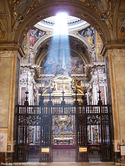 Basilica of St. Mary Major, side altar
