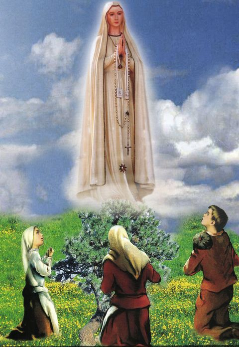 Blessed Mary meets the three shepherd children again on June 13.