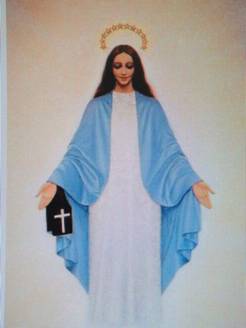 Blessed Mary appears as Our Lady of Mt. Carmel
