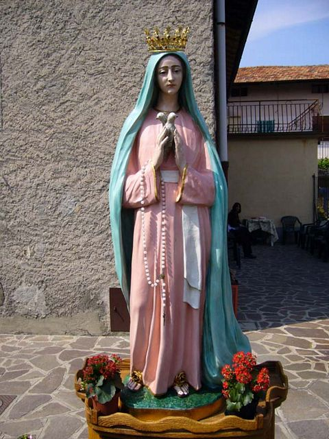 """Our Lady of Family Values"" statue as seen by Adelaide."
