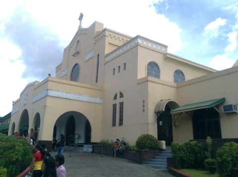 The site of the apparition events in Lipa, Philippines