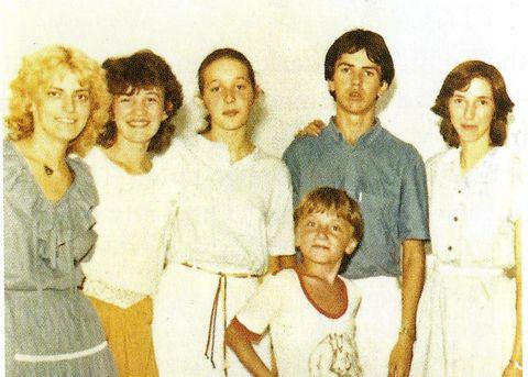 Visionaries: Mirjana, Vicka, Ivanka, Jakov, Ivan, and Marija