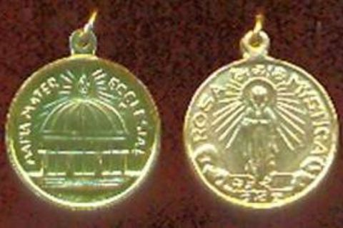 The medal that the Virgin Mary requested to be made