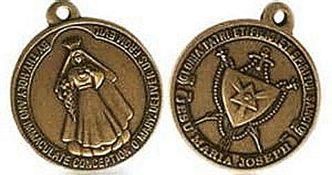 The medal requested by Our Lady of America