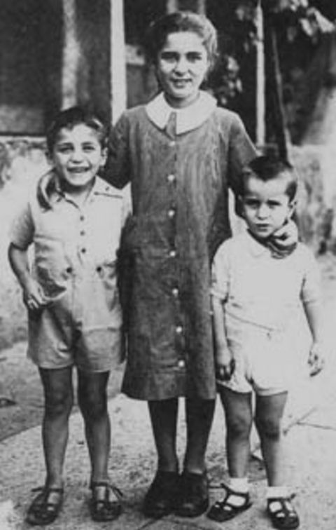 Bruno's three children that accompanied him to the park