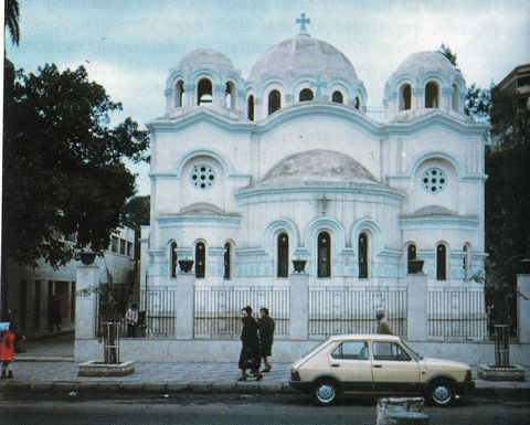 The site of the apparitions: St. Mary's Church, Zeitoun, Egypt, 1968-1971