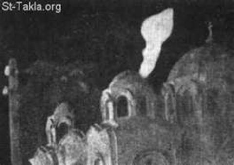 Strange lights begin appearing over the church in this suburb of Cairo.