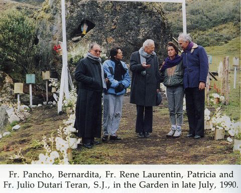 "Returning to the ""Garden"" at El Cajas after the apparitions ended."