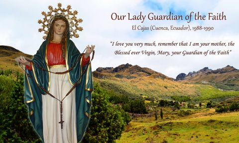 Our Lady leads Patricia to finding a new location high in the mountains