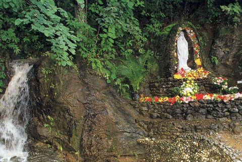 The site of the apparitions in Betania, Venezuela.