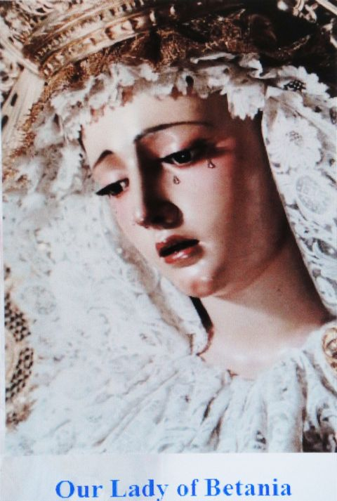 """Our Lady of Betania"" in Venezuela."
