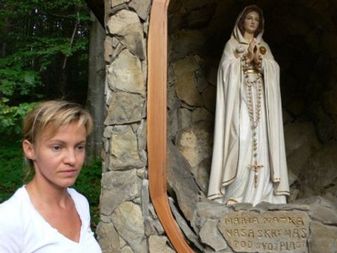 young Ivetka at time of the apparitions