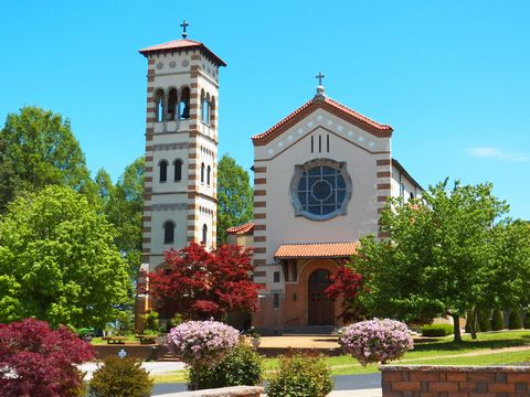 St. Mary of the Barrens, National Shrine of the Miraculous Medal, Perryville, Missouri, USA