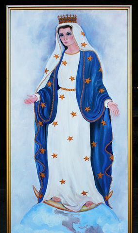 How the Blessed Virgin appears to Neal during the apparitions.