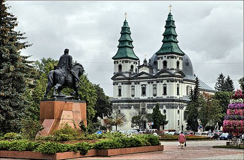 Cathedral of the Immaculate Conception in Ternopil