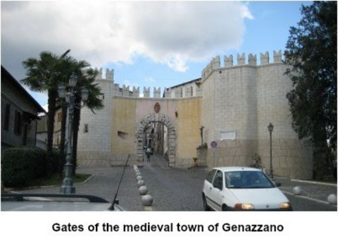 picture #3: The ancient gates of Genazzano, Italy