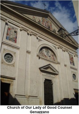 picture #5: Church of Our Lady of Good Counsel in Genazzano