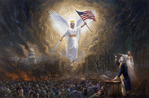 picture #4: An angelic vision and of things to come for America