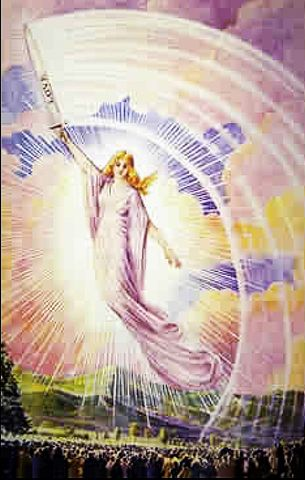 picture #5: The Angel of America as presented by Blessed Mary