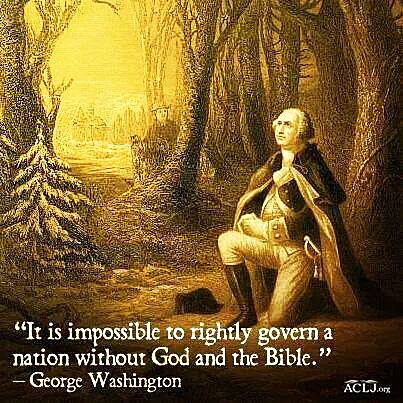 picture #6: George Washington maintains a strong faith and many prayers