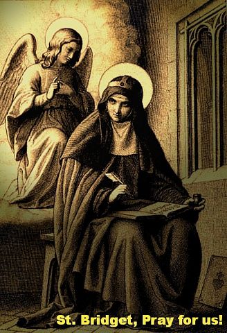 picture #8: St. Bridget writes volumes of inspiring messages