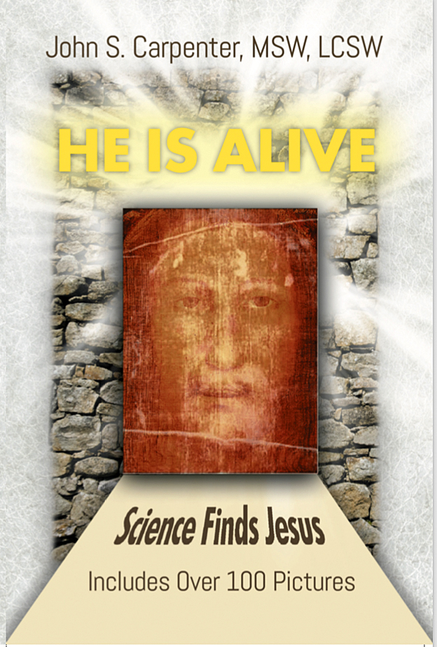 Front cover of the book 'He is Alive'