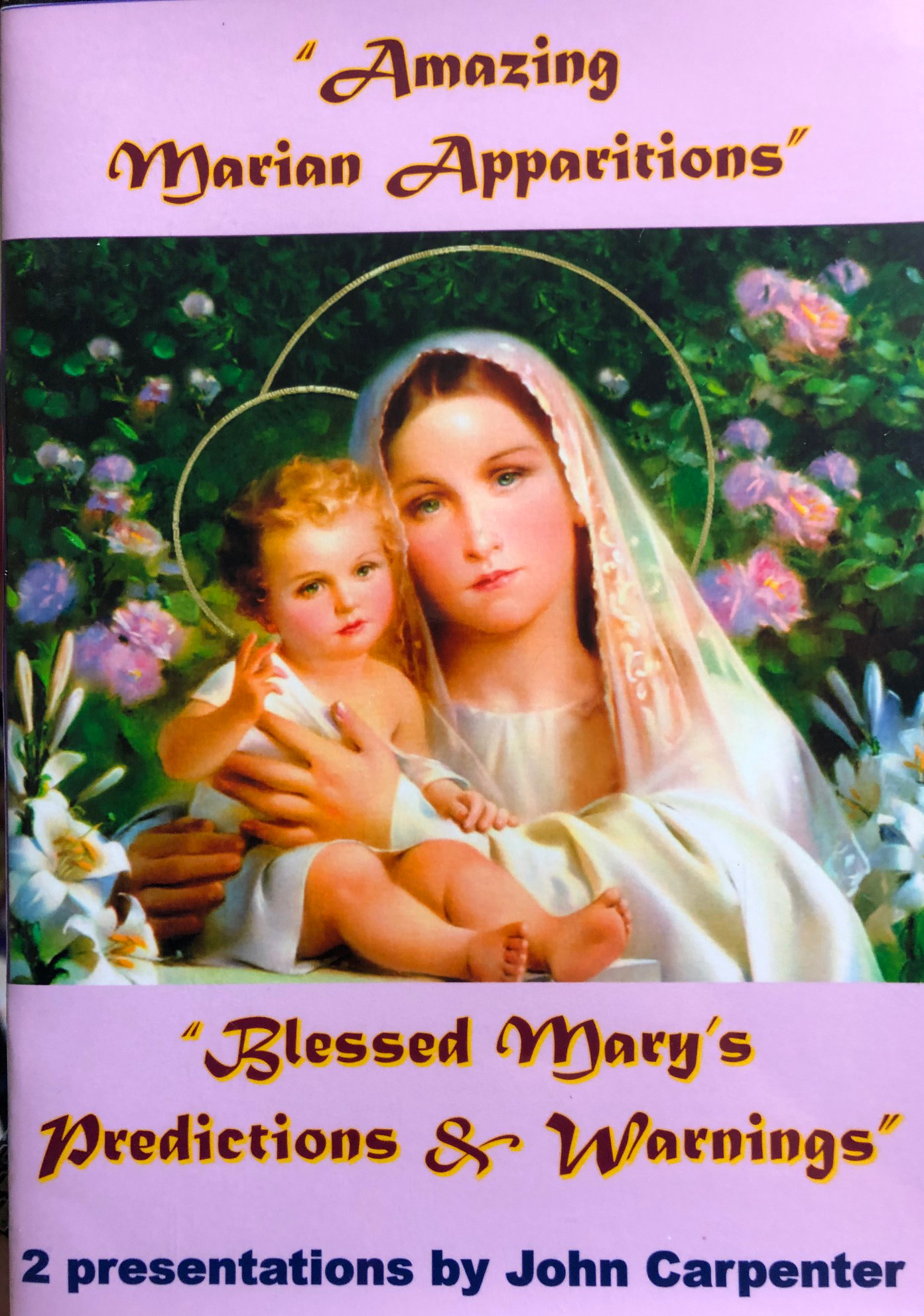 Marian Apparitions DVD Front Cover