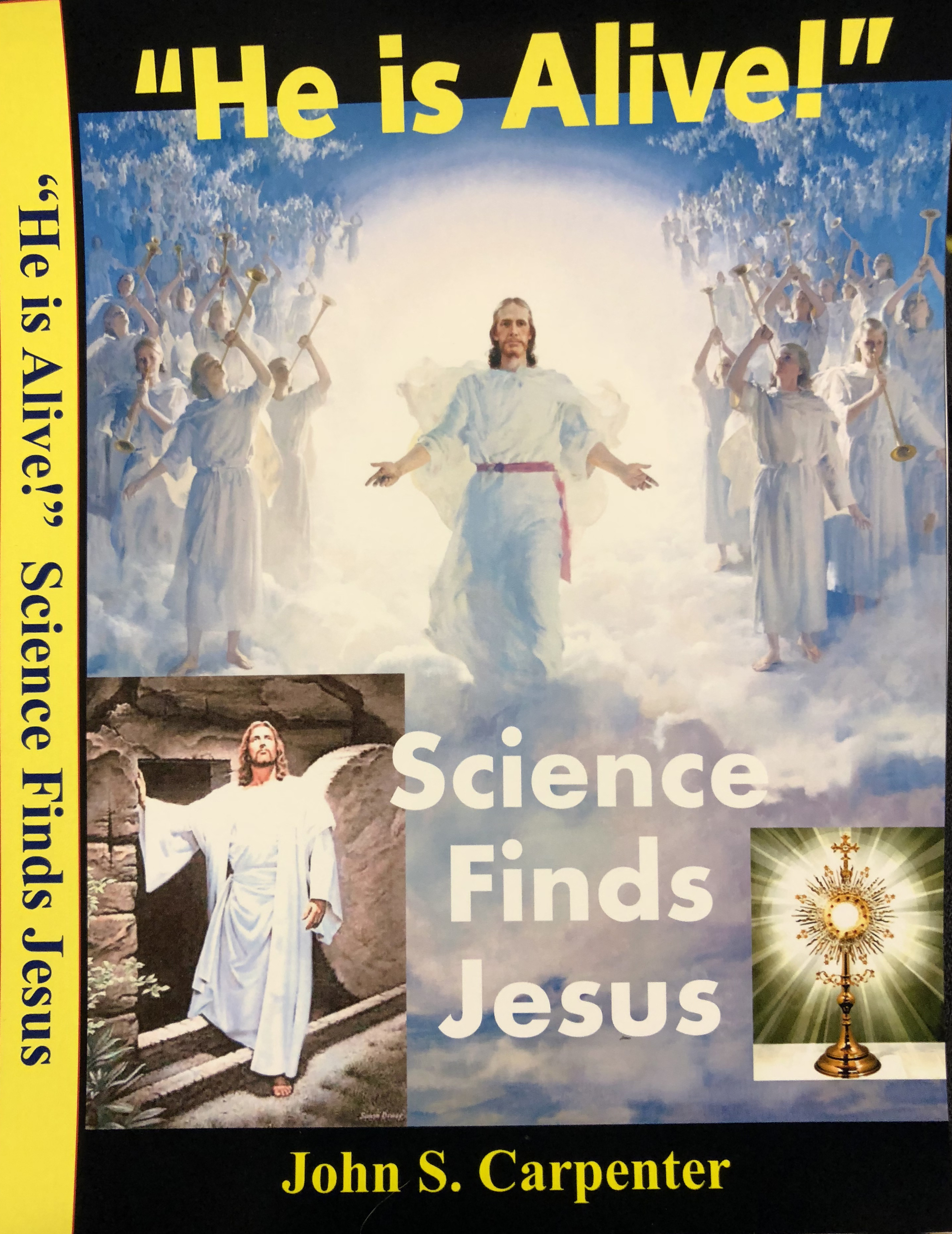 Science Finds Jesus DVD Front Cover