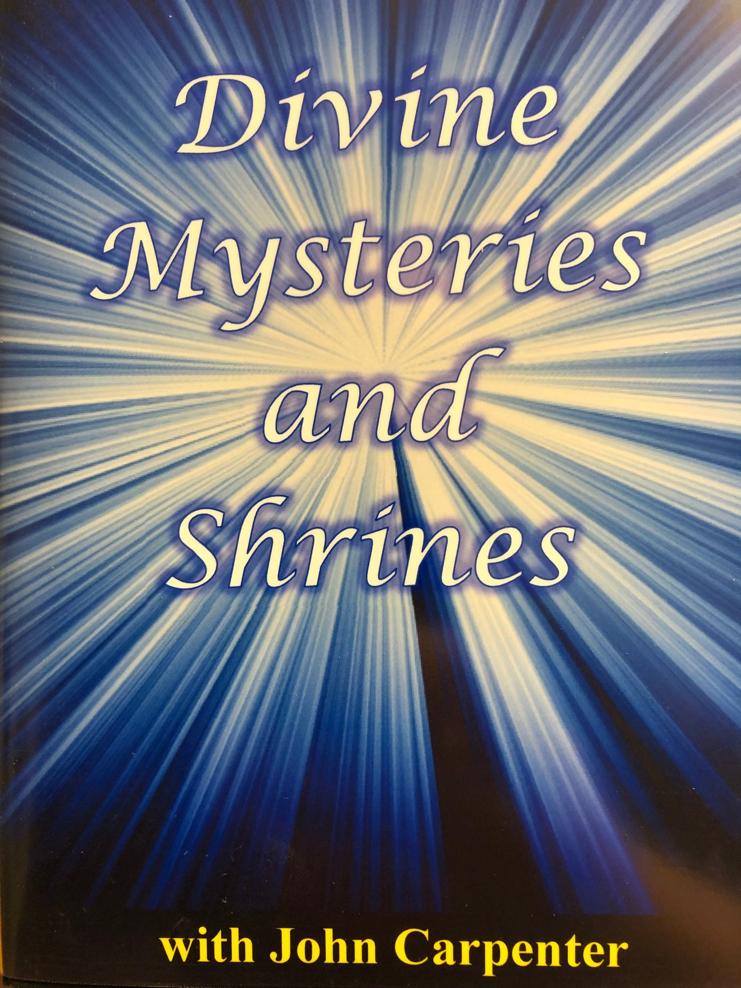 Divine Mysteries DVD Front Cover